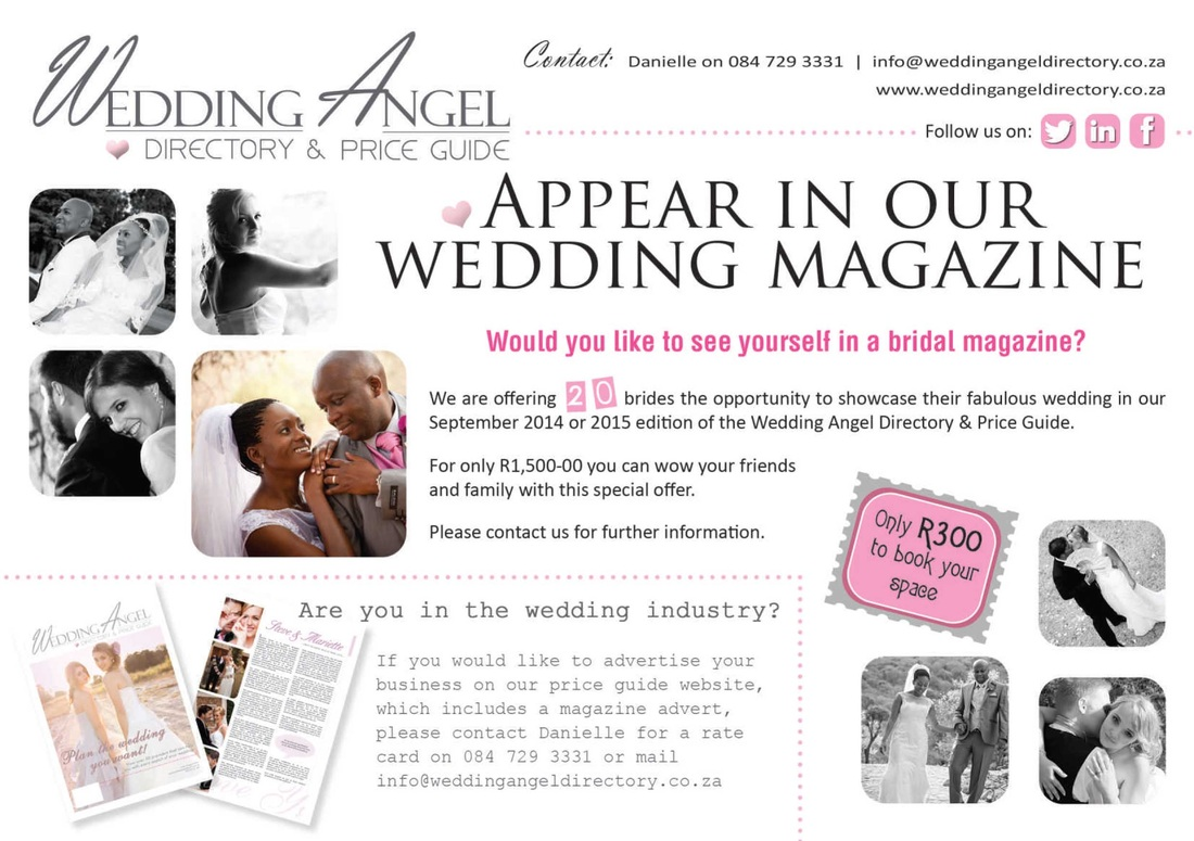 Feature your wedding in our magazine